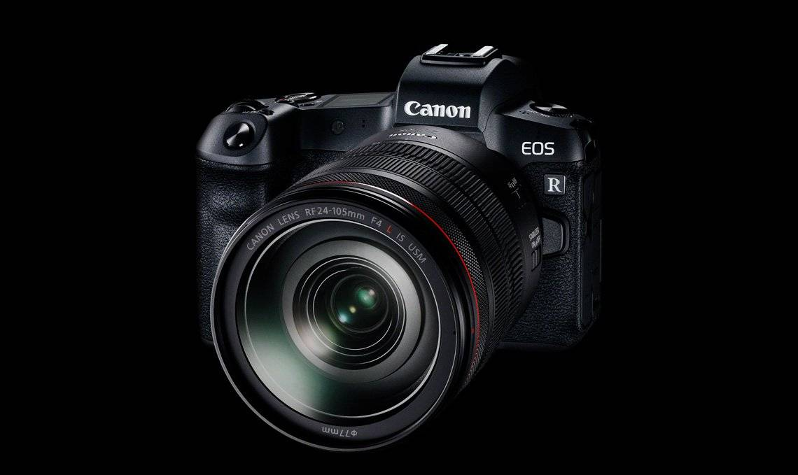 Photo officielle du Canon Eos R